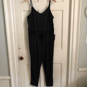 VELVET TORCH black jumpsuit